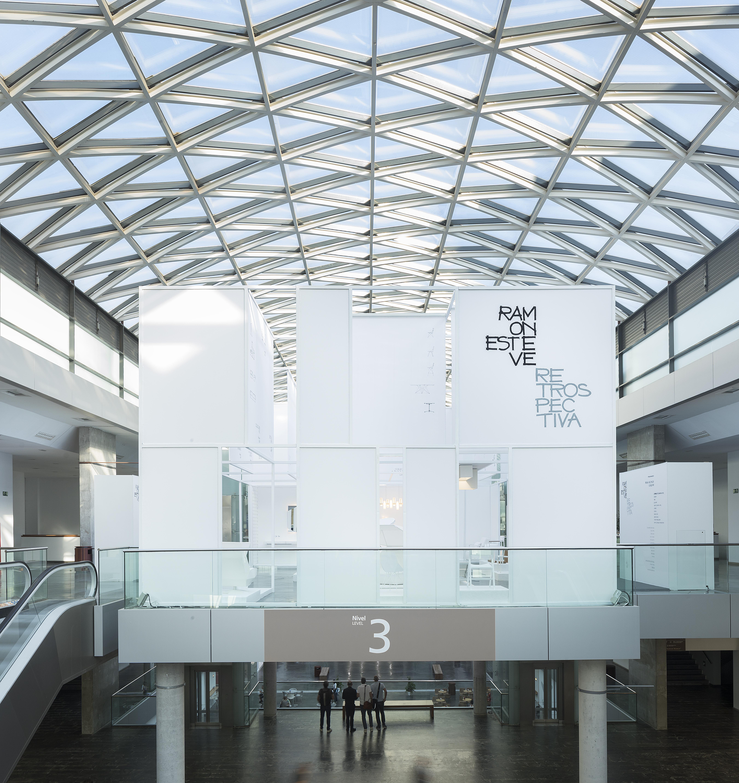 Estructura de hierro diseñada por Ramón Esteve  para su stand Retrospectiva.